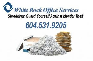 Office Services - Paper Shredding