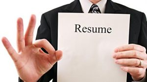 Resume for the job seekers